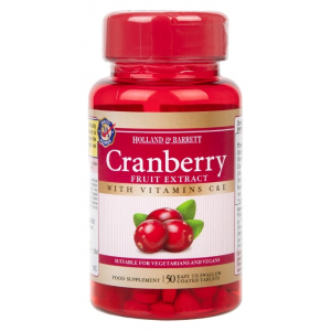 Cranberry Fruit Extract - 50 tablets