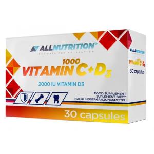 Vitamin C 1000 + D3 - 30 caps