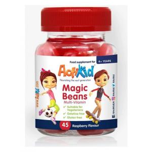 Magic Beans Multi-Vitamin, Raspberry - 45 gummies