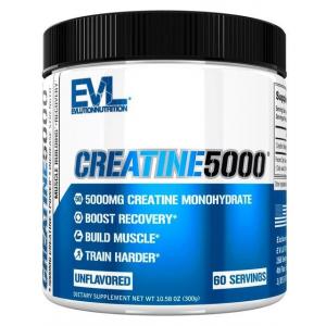 Creatine 5000, Unflavored - 300g
