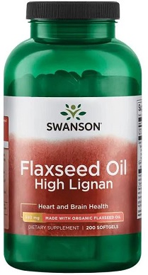 Flaxseed Oil High Lignan - 200 softgels