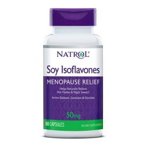 Soy Isoflavones, 50mg - 60 caps
