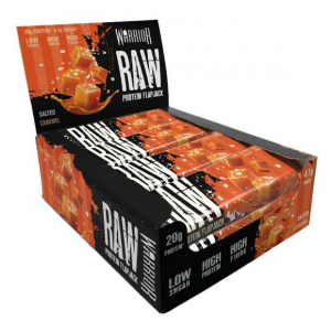 Raw Protein Flapjack, Salted Caramel - 12 bars