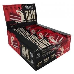 Raw Protein Flapjack, Red Velvet Cake - 12 bars