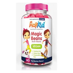 Magic Beans Multi-Vitamin - Vegan, Red Berries - 60 beans
