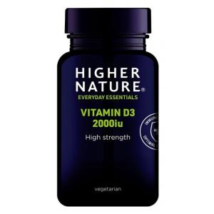 Vitamin D3, 2000IU - 60 caps