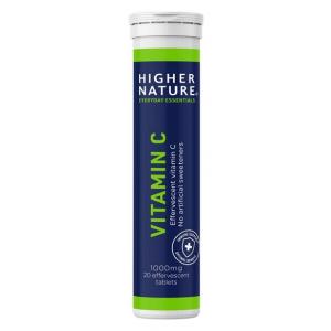 Vitamin C, Natural Orange - 20 effervescent tabs