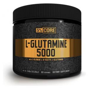 L-Glutamine 5000 - Core Series, Unflavoured - 348g