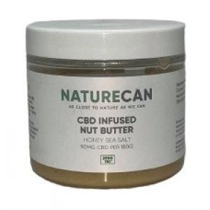 CBD Infused Nut Butter, Honey Sea Salt - 180g