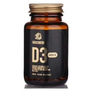 Vitamin D3, 4000IU - 90 caps