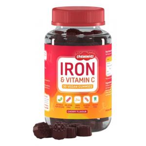 Iron & Vitamin C, Cherry - 30 vegan gummies