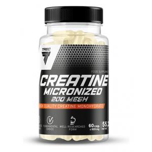 Creatine Micronized 200 Mesh - 60 caps