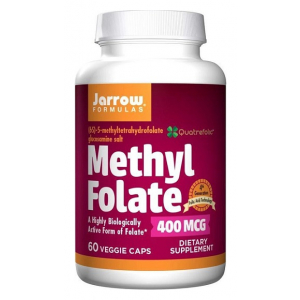 Methyl Folate, 400mcg - 60 vcaps