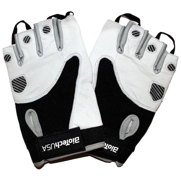 Texas Gloves, White Black - Small