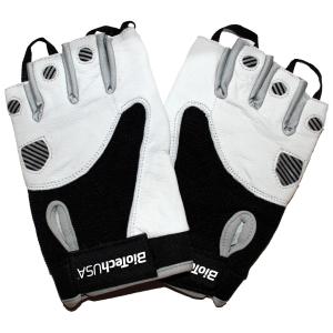 Texas Gloves, White Black - Large