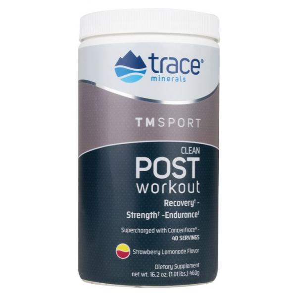 Clean Post-Workout, Strawberry Lemonade - 460g
