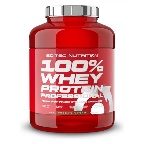 100% Whey Protein Professional, Strawberry White Chocolate - 2350g