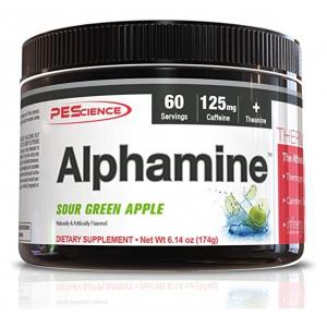 Alphamine, Sour Green Apple - 174g