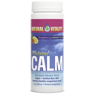Natural Calm, Raspberry Lemon - 226g
