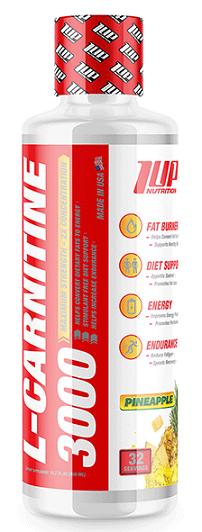 L-Carnitine 3000, Pineapple - 480 ml.