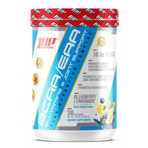 His BCAA/EAA Glutamine & Joint Support Plus Hydration Complex, Blueberry Lemonade - 450g