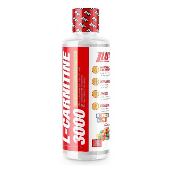 L-Carnitine 3000, Bubble Gum - 480 ml.