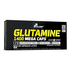 Glutamine Mega Caps - 120 caps (EAN 5901330078309)