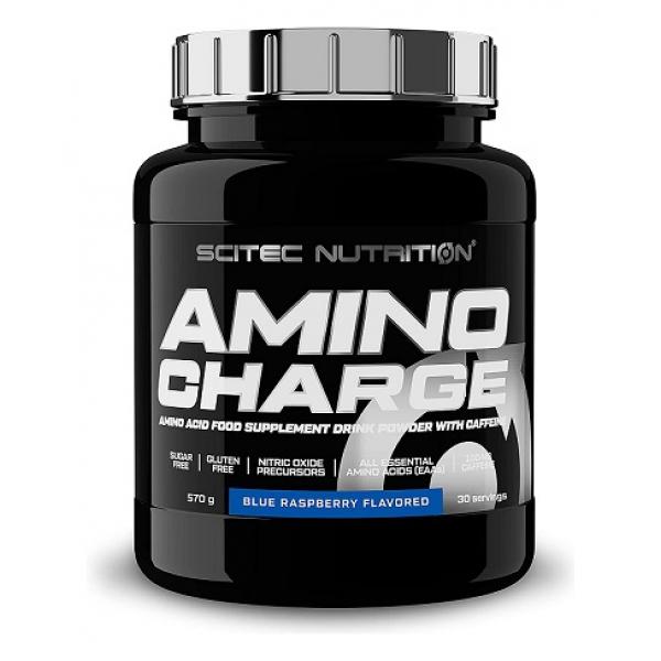 Amino Charge, Blue Raspberry - 570g