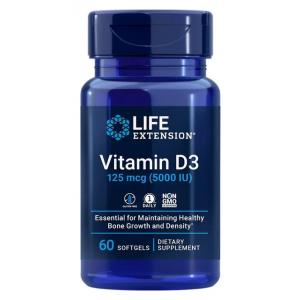 Vitamin D3, 125mcg - 60 softgels