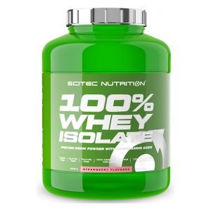 100% Whey Isolate, Strawberry (EAN 5999100023017) - 2000g