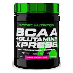 BCAA + Glutamine XPress, Bubble Gum - 300g